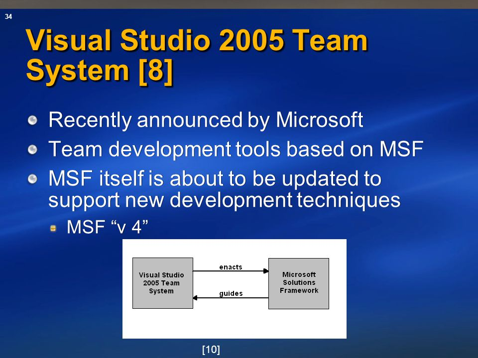 Visual Studio 2005 Team System [8]